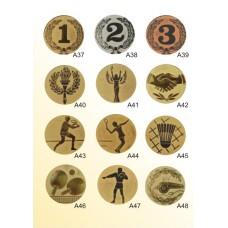 Вставки для медалей и кубков