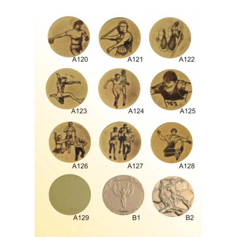 Вставки для медалей, кубков 2