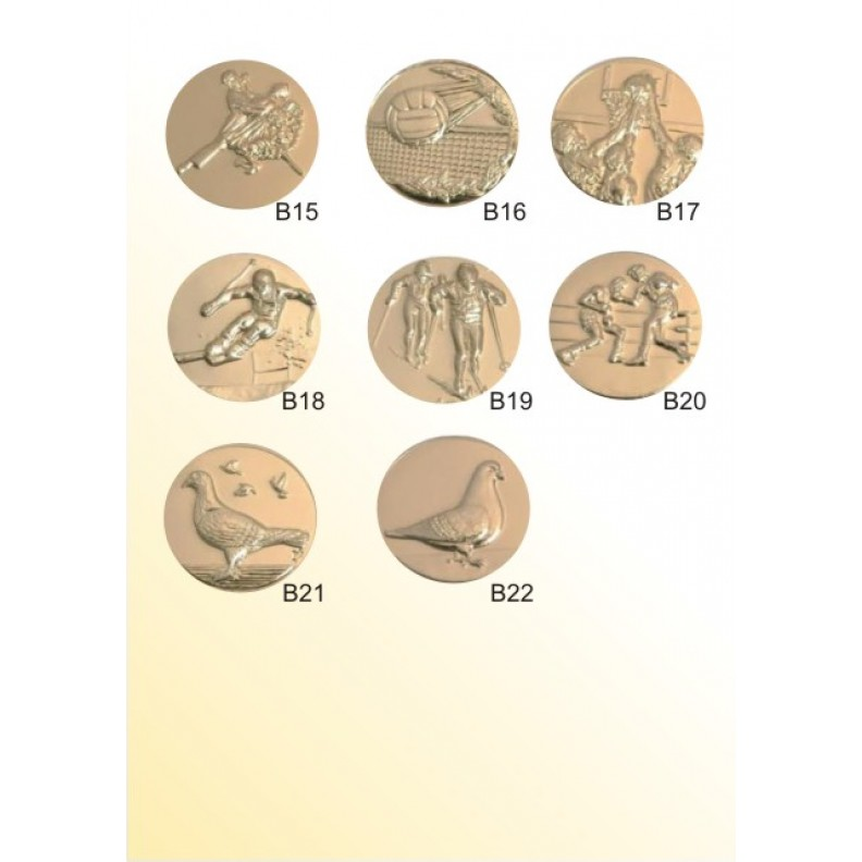 Вставки для медалей, кубков