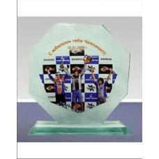 Стеклянные награды с цветным переносом № 2