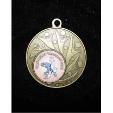 Медаль с ламинированной вставкой  (Образец  ) 50 мм