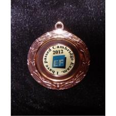 Медаль на корпоратив с логотипом ( Образец нанесения ) 50 мм
