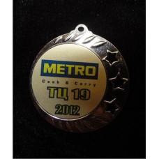 Медаль с корпоративной символикой