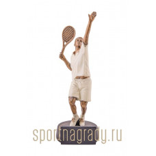 "Статуэтка литая ""Теннисист"""